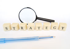 Stratégie photos stock