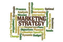Stratégie du marché Images libres de droits