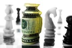 Stratégie financière Photographie stock
