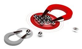 Stratégie marketing stratégique Photos stock