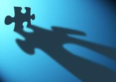 Stratégies de puzzle Image libre de droits