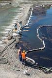 Strata olej od instalaci naftowej Fotografia Royalty Free