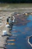 Strata olej od instalaci naftowej Obrazy Stock