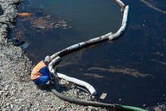 Strata olej od instalaci naftowej Zdjęcia Royalty Free