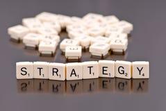 strategi royaltyfri bild