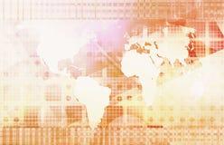 strategi för administration för affärsföretag global royaltyfri foto