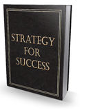 Strategi för framgångbok Royaltyfri Foto