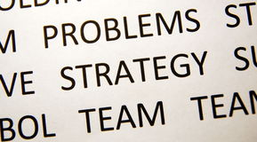 strategia Zdjęcia Stock
