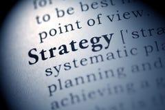 Strategia immagine stock