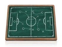 Strategia di calcio Fotografia Stock