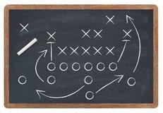 Strategia di calcio Immagini Stock