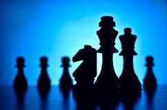 Strategia di scacchi Immagini Stock Libere da Diritti