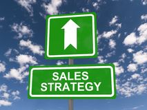 Strategia di vendite fotografie stock libere da diritti