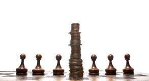 Strategia finanziaria Immagine Stock