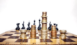 Strategia finanziaria Immagini Stock