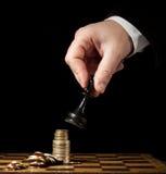 Strategia finanziaria Fotografie Stock Libere da Diritti