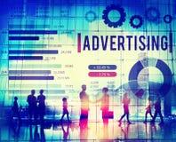 Strategia marcante a caldo di vendita di Digital concetto online di media illustrazione vettoriale