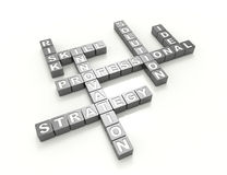 Strategia-parola-concetto illustrazione vettoriale
