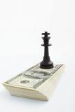 Strategia su soldi Fotografia Stock Libera da Diritti