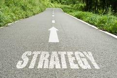 Strategia sulla strada Immagine Stock