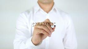Strategic Alliance, Man Writing on Glass. 4k stock video