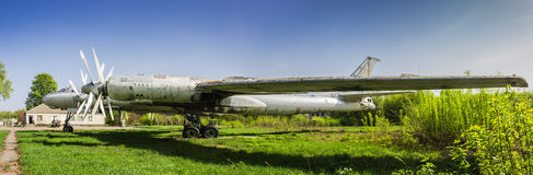 Strategic bomber Tu-95 Bear Royalty Free Stock Photography