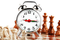 Strategic Formation. Business Strategic Formation in the chess game Stock Photography
