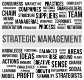 STRATEGIC MANAGEMENT Stock Photos
