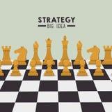 Strategic planning design. Royalty Free Stock Image