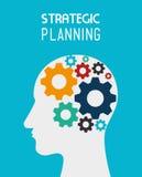 Strategic planning design. Stock Photos
