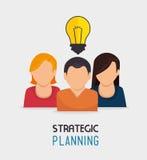 Strategic planning design. Stock Photography