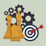Strategic planning design. Stock Images