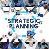 Strategic Planning Process Action Plan Concept Stock Images