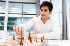 Strategic play Royalty Free Stock Image