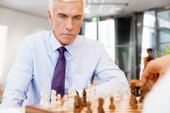 Strategic play Stock Images