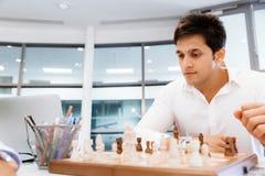 Strategic play Royalty Free Stock Photos