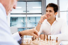 Strategic play Stock Photography