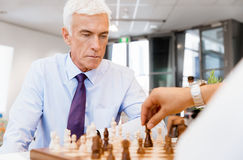 Strategic play Royalty Free Stock Images