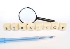Strategie stockfotos