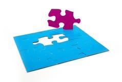 Strategie di puzzle di colore Fotografie Stock Libere da Diritti