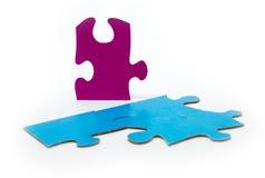 Strategie di puzzle di colore Immagini Stock
