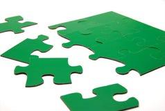Strategie di puzzle di colore Fotografie Stock