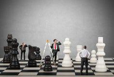 Strategie en tactiek in zaken stock afbeelding
