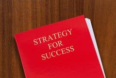 Strategie für Erfolg lizenzfreies stockbild