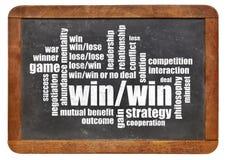 Strategie mit Gewinn für beide Parteien stockfotos