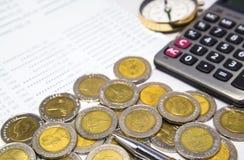 Strategie om geld te besparen Royalty-vrije Stock Afbeelding