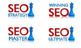 Strategie SEO Royalty-vrije Stock Foto's