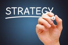 Strategie Witte Teller stock fotografie