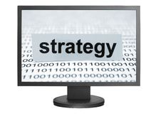 Strategieconcept Royalty-vrije Stock Foto