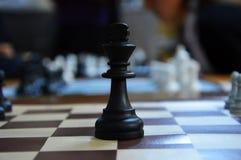 Strategiekoning royalty-vrije stock fotografie